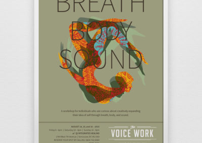 The Voice Work Poster