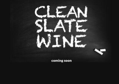 Clean Slate Wine