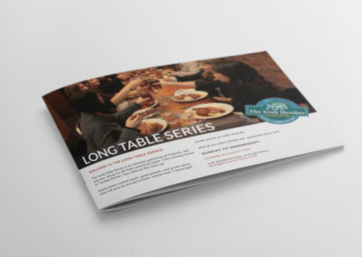 long table series brochure