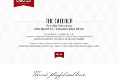 Shay Kelly Caterer Website