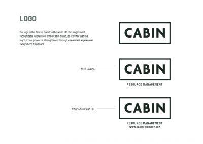 CABIN - brand design