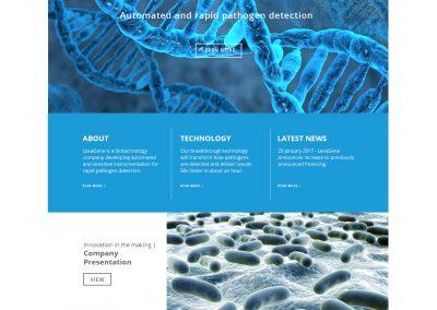 Lexagene - home page
