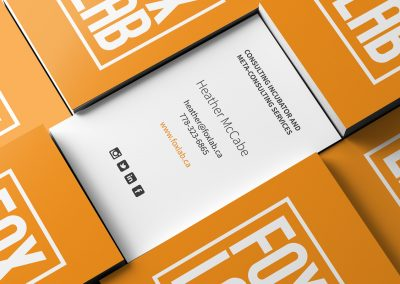 Foxlab business cards