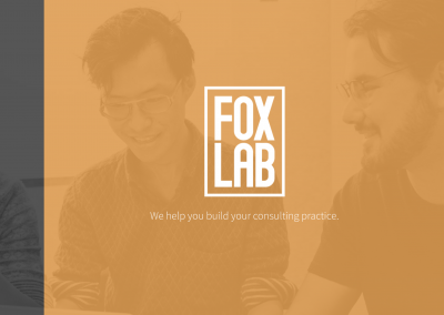 foxlab website - brand