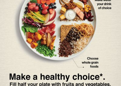 healthy choice campaign poster