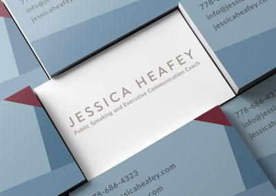 jessica heafey business card