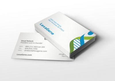 lexagene business cards