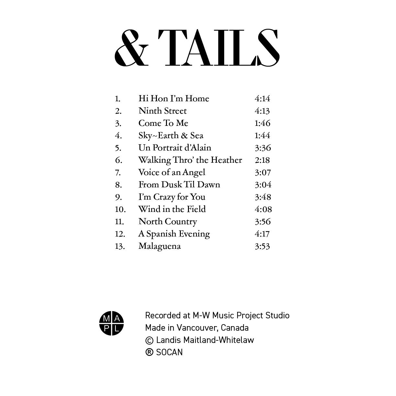 Landis Maitland-Whitelaw - album cover design