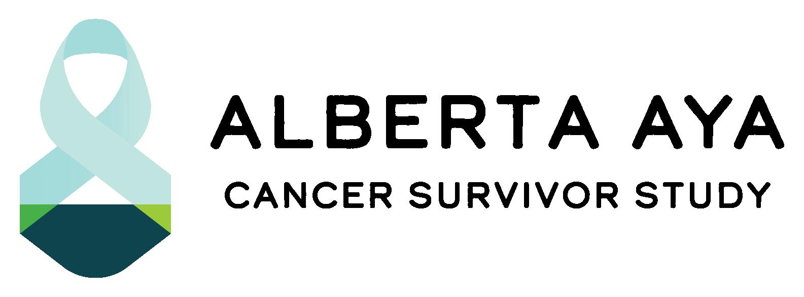 ALBERTA ADOLESCENT AND YOUNG ADULT CANCER SURVIVOR STUDY logo